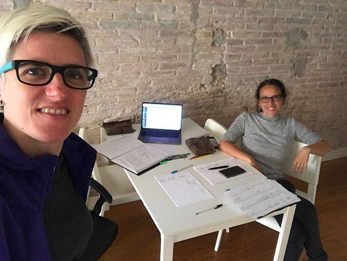 Creando: reunión de producción